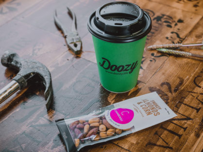 Healthy products and Doozy Coffee Cups