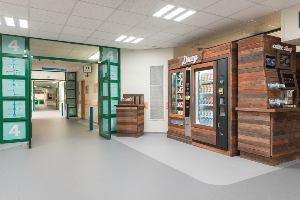 Healthy Vending at Salisbury Hospital