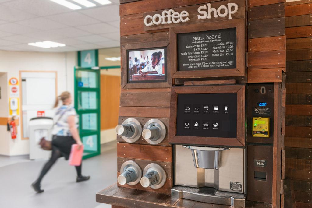 Salisbury Hospital Coffee Machine