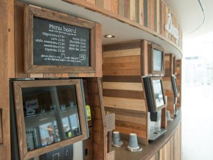 Premium coffee vending machine Hard