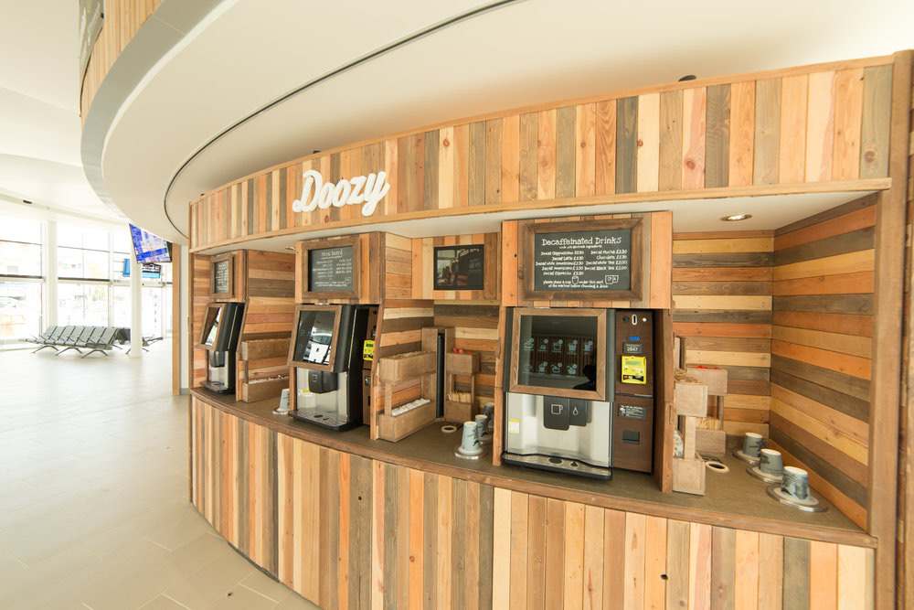 Premium coffee vending machines the hard
