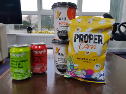 New healthy vending product mix