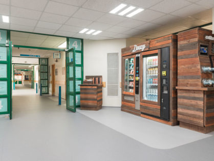 hospital healthy vending machines feature