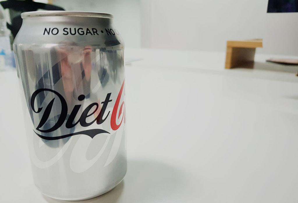 Diet Coke with Artificial Sweeteners