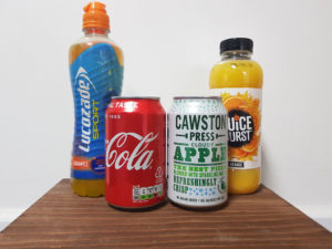 Traditional vs healthy vending drinks