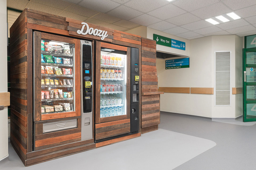 Salisbury Hospital-vending machines made healthier