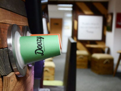 Doozy Coffee machine feature