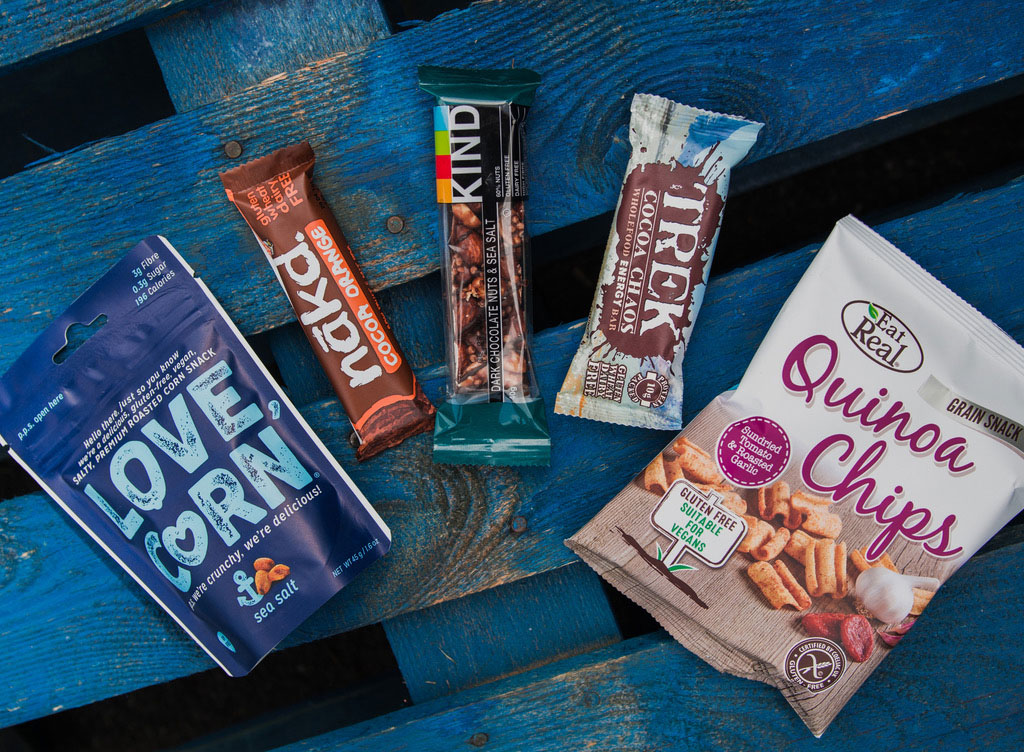 Healthy vending products