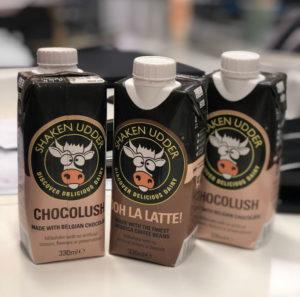Shaken udder healthy vending