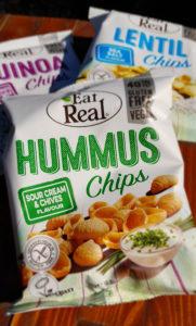 Eat Real Healthy vending snacks