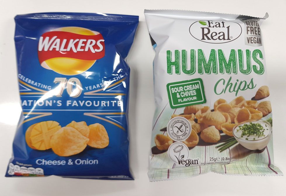Eat real walkers compare healthy vending