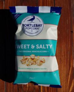 Portlebay Popcorn healthy vending snack