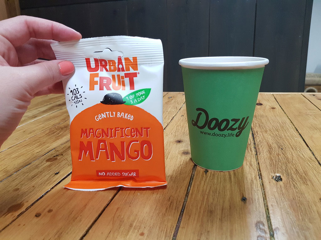 healthy vending product with doozy coffee