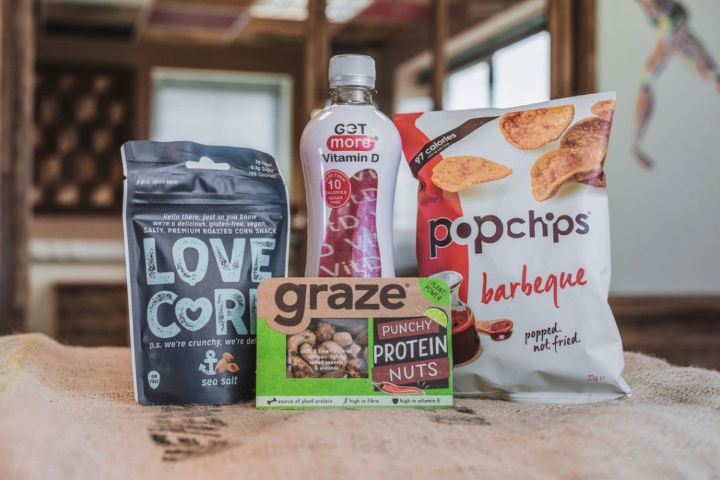 healthy vending machine products