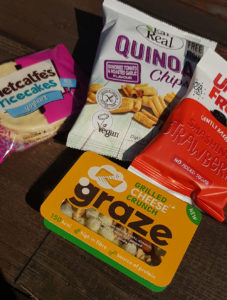 Healthy vending products Mix