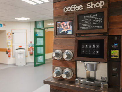 Doozy coffee machines feature