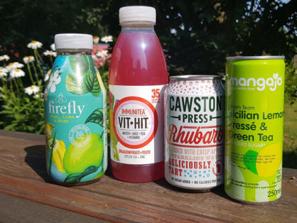healthy cold drinks for vending