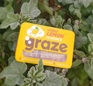 Doozy healthy products graze lemon flapjack