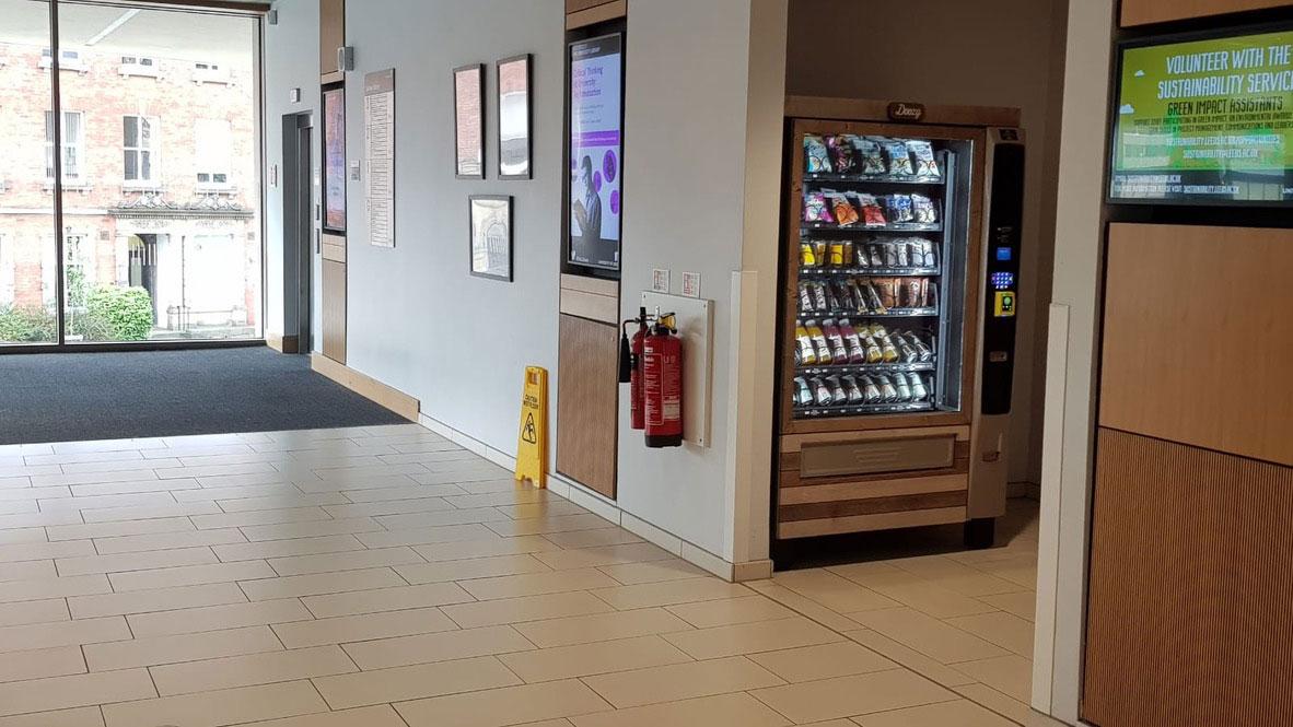 Doozy vending university site