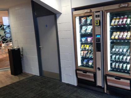 Healthy vending at Leeds University