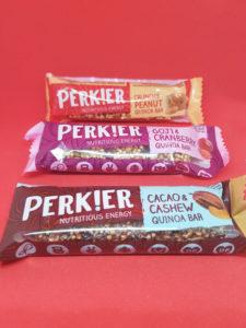 Vegan Perkier Doozy snacks