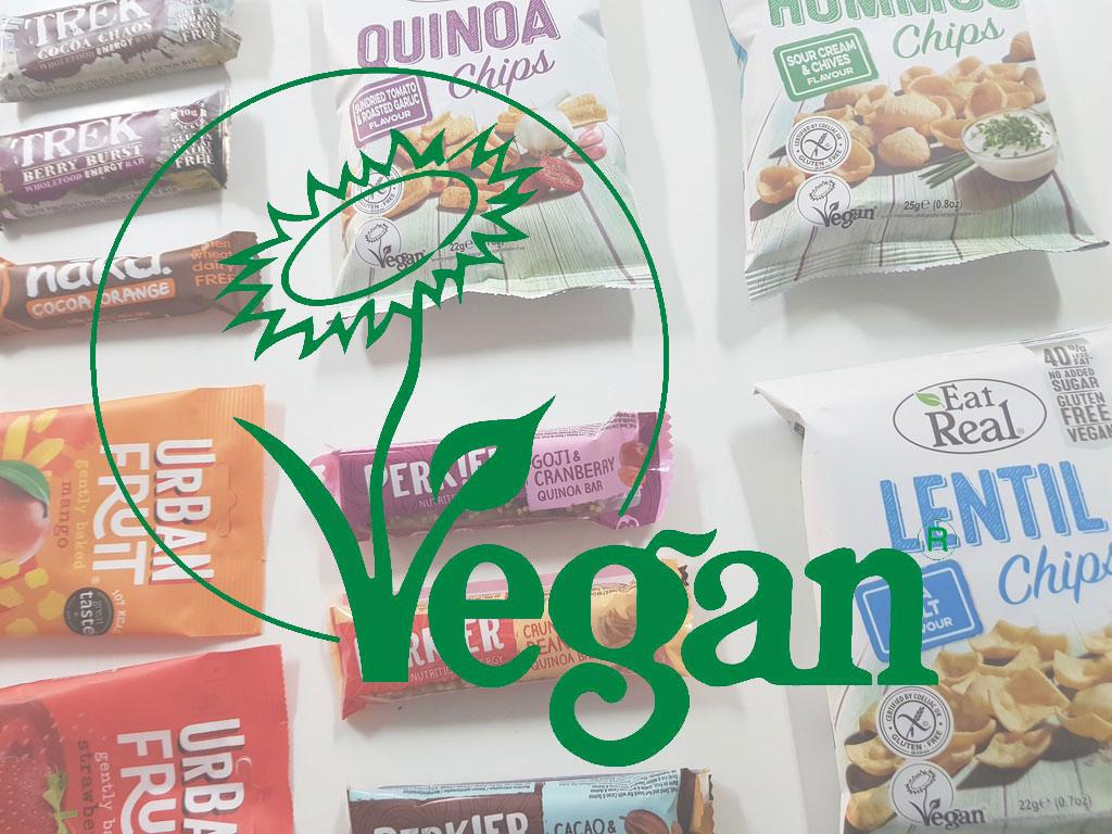 vegan overlay on doozy snacks